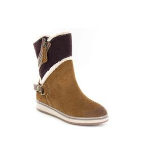 White Mountain Teague Leather Winter Boots 6